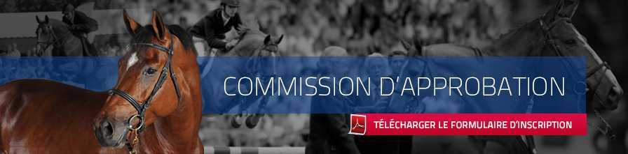 Commission d'approbation | télécharger le formulaire