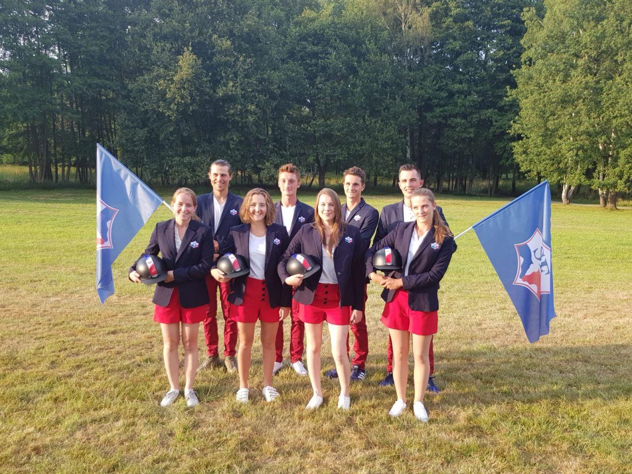 Les Young Breeders aux Championnats du Monde 2015